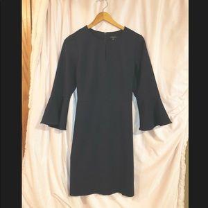 Ann Taylor Navy Sheath Dress